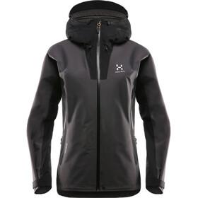 Haglöfs Kabi K2 Jacket Dame true black/magnetite